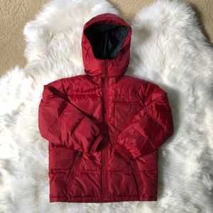 GAP kids down coat, medium